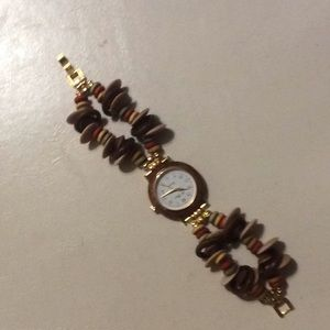 "Jewelry - VINTAGE COSTUME JEWELRY WATCH ""TIME TO DISCO"""